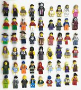 Lego New Minifigs Town City Series Christmas Pirate Castle More You Pick