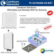 Cambium Solutions For Schools E410 Indoor And E500 Outdoor Wifi Access Point