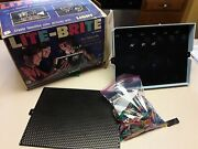 Lite-brite Set. 1967 Hasbro Set Includes 650+ Bulbs And Second Screen. Works
