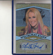 2009 Ud Spectrum Of Stars Lita Ford The Runaways/kiss Me Deadly Auto Autograph