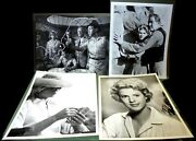 36 Unlisted Vintage Movie/publicity Stills From Movieland Wax Museum Collection