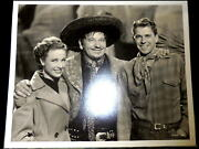 The Bad Man Clarence Bull M.g.m. Photo Ronald Reagan-wallace Beery-laraine Day