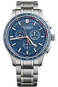 Watch Man Victorinox Alliance V241817 Of Stainless Steel Silver