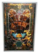 Beautiful Architectural Stained And Leaded Glass Window Memory Of My Mother