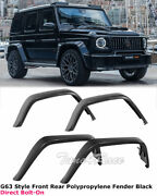 For 13-17 Benz G Class G63 Amg Style Fender Flares Full Set W463 Wheel Molding