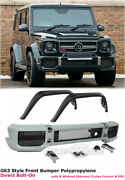 For 02-17 Benz W463 G63 G65 Style G-class Front Bumper W/ Fender Flares Direct