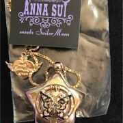 Used Necklace Sailor Moon 25th Anna Sui Isetan Limited With Box Good Condition