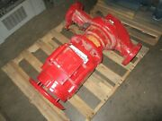 Bell And Gossett Inline Centrifugal Pump 1580 Size4x4x9.5f 450gpm 162ft Head Used