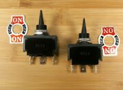 2 Attwood On/off /on 20 Amp Water Resistant Marine Grade Toggle Switches 14386