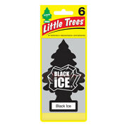 Little Trees Black Ice Hanging Air Freshener Scent Home Car 6-12-24-48-96-144 Pc