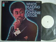 Test Press / Johnnie Taylor Who's Making Love / Gatefold Cover