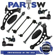 Kit For 1997 - 2001 Toyota Camry 12 Pc Control Arms Tie Rods Ball Joints