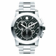 Movado Menand039s Vizio Back Carbon 0606551 100 Authentic Retail 2595