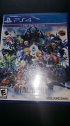World Of Final Fantasy Playstation 4 Ps4 Factory Sealed Sold Out Everywhere