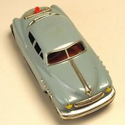 Nomura Toy Tinplate Car Space Cruiser With Mortor 21 Cm Long F/s Made In Japan