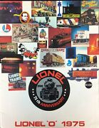 Vintage 70s Lionel Toy Electric Trains And Accessories Catalog 75th Anniversary