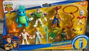 Imaginext Disney Toy Story 4 Deluxe Figure Pack - Buzz Lightyear Woody Forky