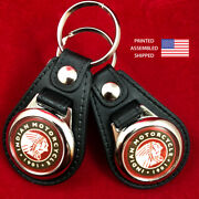 Indian Motorcycle Since 1901 Key Fobs Key Ring Keychain 2-pack