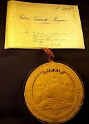 Queen Victoria Great Patent On A Very Large Vellum And Super Large Wax Seal - 1874