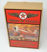 Wings Of Texaco 1930 Travel Air Model R Mystery Ship Dime Bank 5th In Series