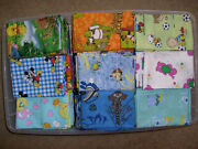 Disney, Kids,and Misc Hand Crafted Removeable Pillow Case Covers Q-wgroup 2 Of2