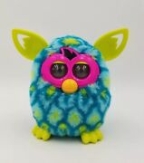 2012 2 Tone Teal Yellow And Pink Peacock Interactive Tested, Works Furby Boom 19