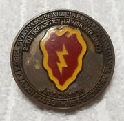 Authentic Early 25id Light Pre-desert Storm Very Old / Rare Challenge Coin