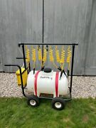 Football Sports Hydration Cart Battery Powered Water Delivery Rolling Cart Vguc