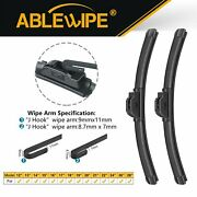 Ablewipe 19+19 Fit For Toyota Sequoia T100 Tundra Windshield Beam Wiper Blades