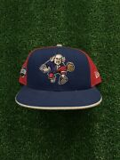 """Philadelphia 76ers """"2002 Nba All-star Game"""" New Era Fitted Hat Size 7 5/8"""