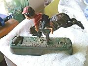 Antique Cast Iron Mechanical Bank I Always Did 'spise A Mule Book Of Knowledge