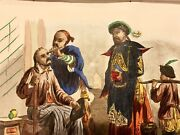 Antique Engraving Barbier Chinois China Chinese Barber Costume Print 1844