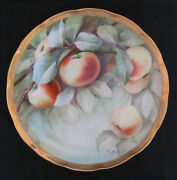 Antique Ginori Plate Hand Painted Artist Signed