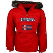 Geographical Norway Jacket Poncho Building Jacket Unisex Uk14 Brand New With Tag