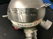 Fire Bottle P/n 806000-11 Ohc 8130-3 Airline Trace 12653