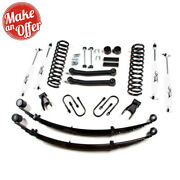 Zone Offroad J23n 4.5 Front And 4 Rear Suspension System W/ Rear Leaf Springs