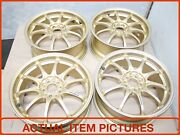 Rays Eng Forged 17 Inch Gold Mag Wheels Jdm Rays Rims