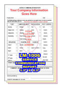Lawn Care Service Communication 2 Or 3 Part Carbonless Forms