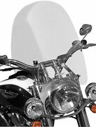 Sportech Cruise Series Windshield 20in. Mid Clear 65302010