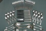 50pc Holmes And Edwards Fashion Silverplate Flatware For Crafts Or Use
