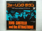 Promo White Label / Elvis Costello I Can't Stand Up For Falling Down / 7inch Nm