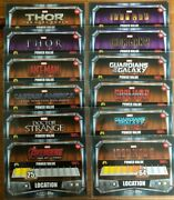 2017 Topps Marvel Missions Trading Cards Base Card Selection