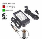 24v2a Battery Charger For Hp1202b Hp-1202b Jac0224 Xlr Not 3 Hole