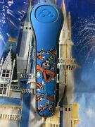 Disney Parks Cluster All Over Goofy Blue Magic Band Magicband 2 Unlinked