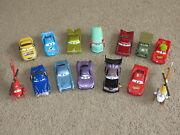 Vg To Great - Disney Pixar Cars Or Cars 2 3 - Lot Of 14 Diecast Cars