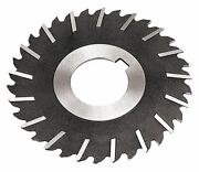Side Chip Clearance 4x5/64x1 Hole Hs Metal Slitting Saws