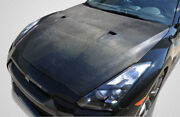 Carbon Creations R35 Oem Look Hood 1 Piece For Gt-r Nissan 09-16 Ed_108586