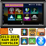 2013 And Up Ram Apple Car Play Android Auto Usb Bluetooth Touchscreen Package