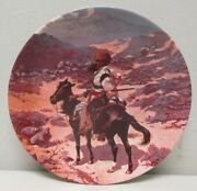 Frederic Remington Indian Trapper Western Art Collector Plate 1981