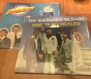 2 Records Blackwood Brothers Second To None Rise And Be Healed /southern Gospel